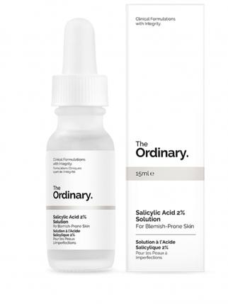 Салициловая кислота The Ordinary - Salicylic Acid 2% Solution - 2%, 30 мл, фото 2