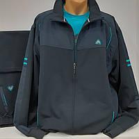 Большой спортивный костюм Soccer, тёмно-синий, размер 62, 64. Спортивний костюм Soccer великого розміру.