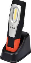 Фонарь светодиодный COB LED аккумуляторный YATO YT-08560 (Польша)