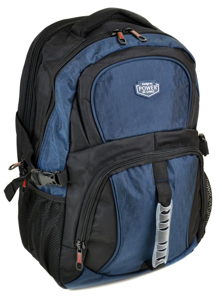 Рюкзак Городской нейлон Power In Eavas 7226 black-blue