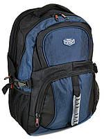 Рюкзак Городской нейлон Power In Eavas 7226 black-blue, фото 1