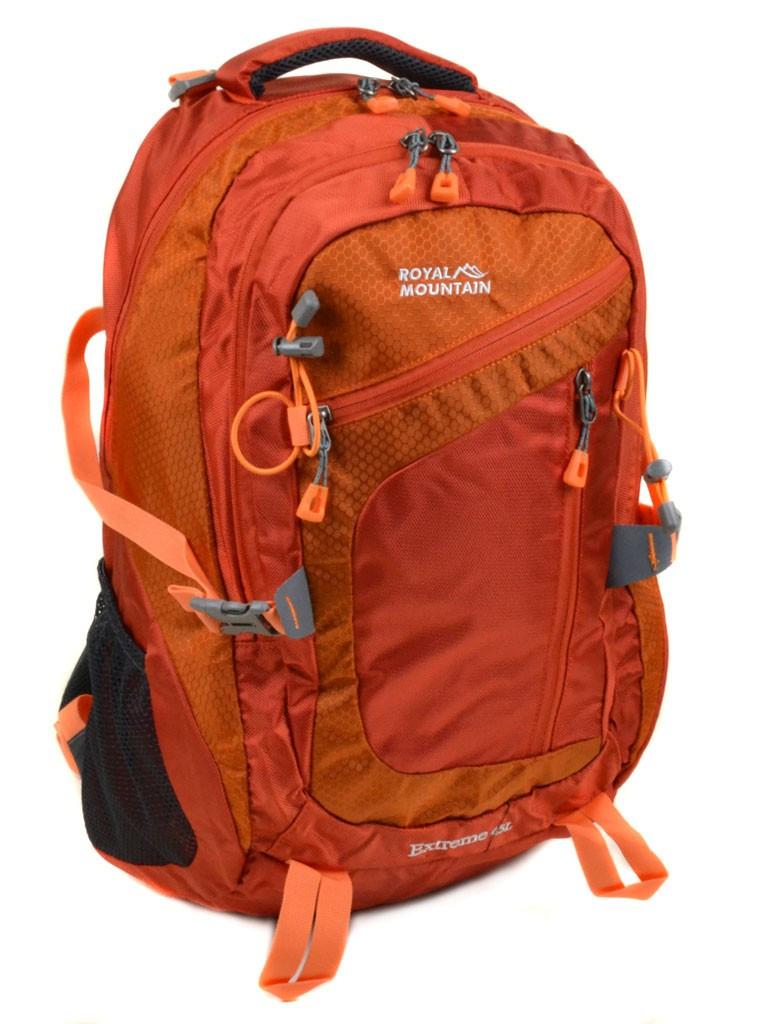 Рюкзак Туристический нейлон Royal Mountain 8431 orange