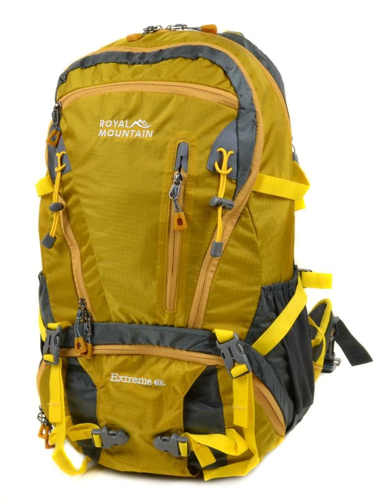 Рюкзак Туристический нейлон Royal Mountain 8421 yellow