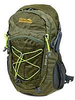 Рюкзак Туристический нейлон Royal Mountain 8343-22 dark-green, фото 1