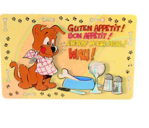 Коврик под миску для собак Trixie Enjoy your meal