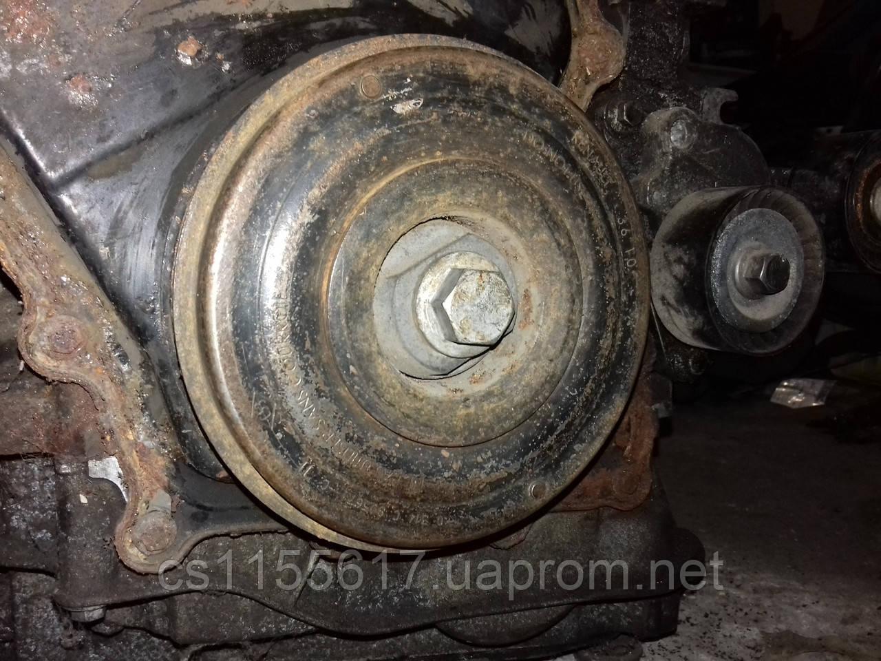 Шкив коленвала 7 руч демпфер 2.3 DCI Renault Master III OpelMovano 2010-2019