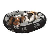 """Спальное место для собак круглое Trixie """"Sammy"""" черный/серый (Трикси)"""