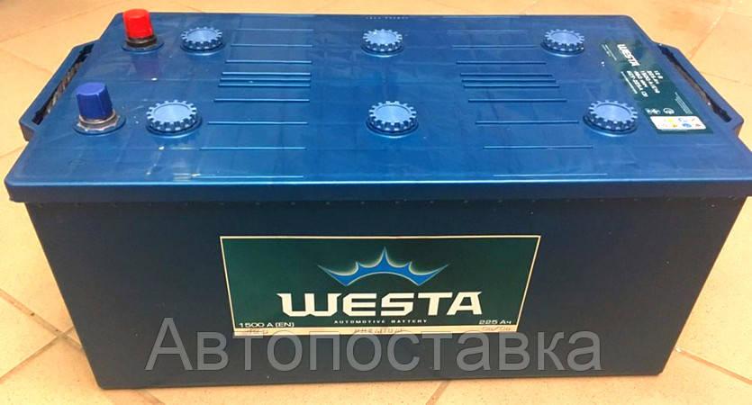 Аккумулятор 6СТ-225Ah(3) Westa 1600A