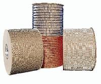 Металлические пружины в бобине  9,5мм бел Р 45 000 колец