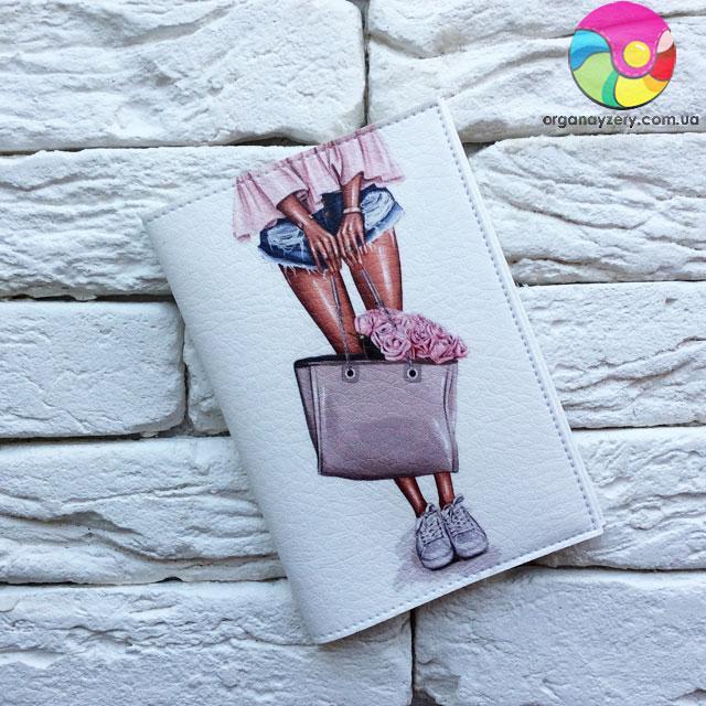 Обложка для паспорта Кеды
