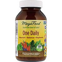 Мультивитамины (One Daily), MegaFood, 180 таблеток