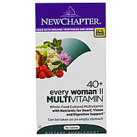 Мультивитамины для женщин II старше 40 лет, One Daily Multi II, New Chapter, 96 таблеток