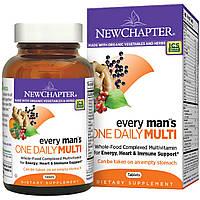 Мультивитамины для мужчин, Every Man's Multi, New Chapter, 1 в день, 72 таблетки