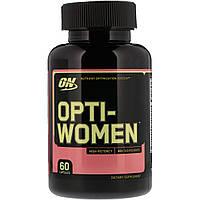 Вітамінний комплекс для жінок (Opti-Women), Optimum Nutrition, 60кап.
