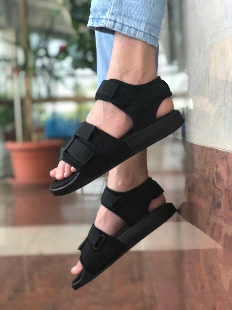 7c20d95173f Мужские сандалии Adidas Adilette 2.0 All Black - Bigl.ua