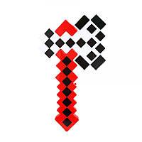 Топор Minecraft (красный)