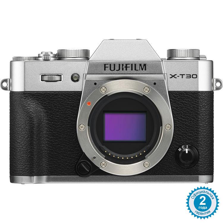 Цифровая фотокамера FUJIFILM X-T30 Body Silver (16620216)