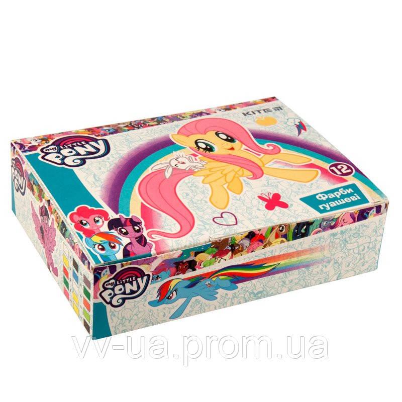 Гуаш Kite Little Pony, 12 цветов LP19-063
