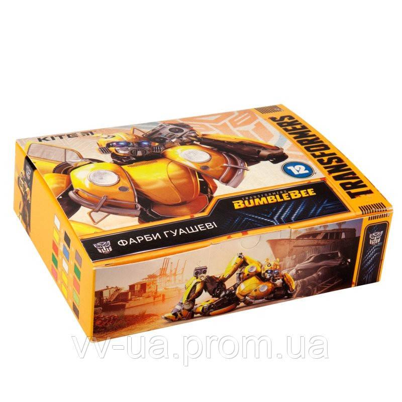 Гуаш Kite Transformers, 12 цветов TF19-063