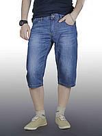 Бриджи джинс мужские DSQATARD 9327 синие, фото 1