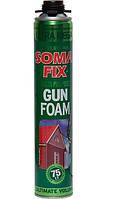Пена монтажная профессиональная SomaFix Ultra Mega 870 мл (75 л) (12 шт/уп)