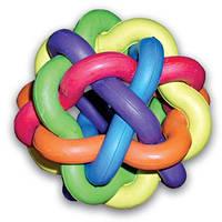 Игрушка для собак Клубок из резины d 9,5 см.