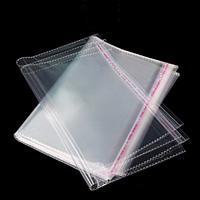 Полипропиленовый пакет с липким клапаном 55 х 60 см (уп-100 шт)