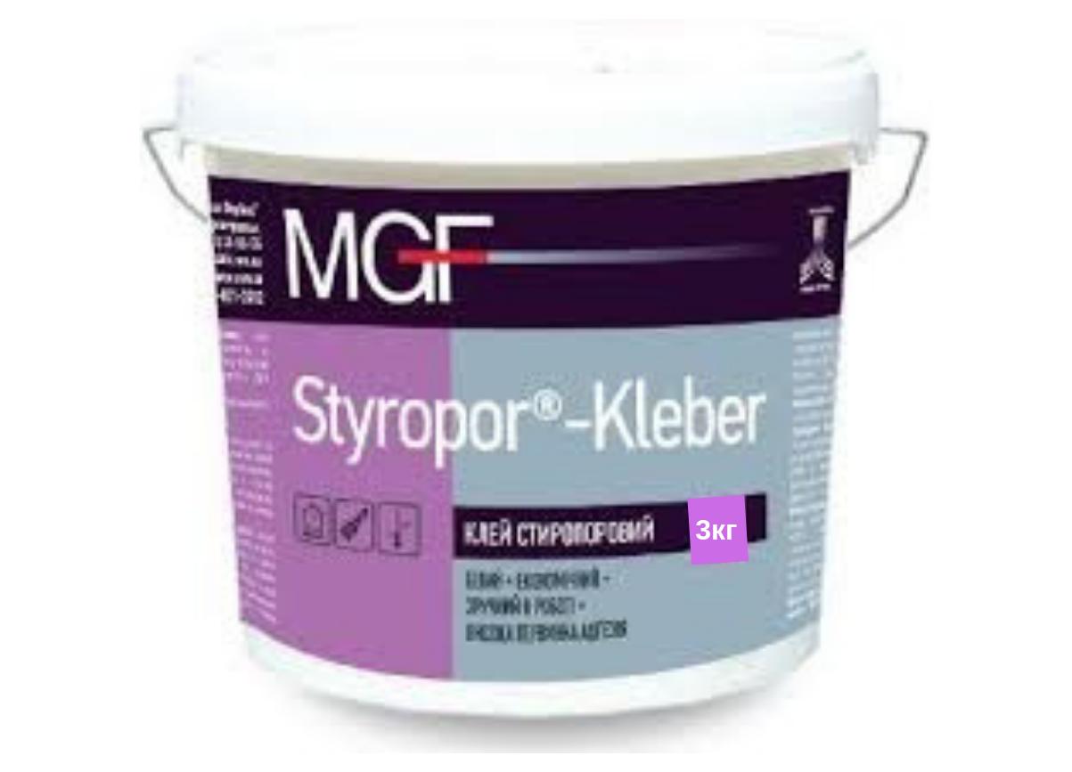 Клей стиропоровый Mgf Styropor-Kleber M18 3кг