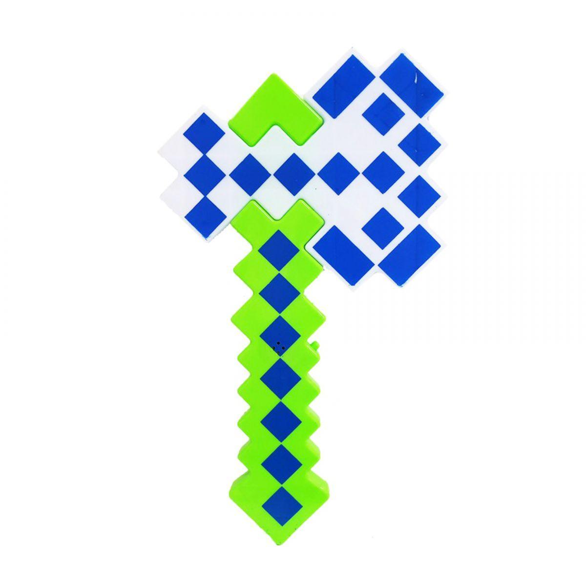 Топор Minecraft (салатовый)
