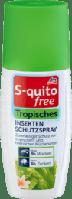 Защитный спрей от насекомых S-quito free Tropisches 100 мл