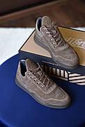 Мужские кроссовки Bastion из натуральной замши, фото 2