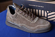 Мужские кроссовки Bastion из натуральной замши, фото 6