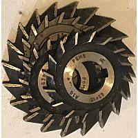 Фреза дисковая трехсторонняя ф 100х12х32 мм Р6М5 прямой зуб