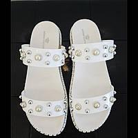 Шльопанці жіночі KEDDO білі, фото 1