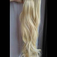 Волосы на заколках блондинка 613А
