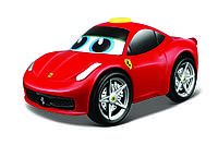 Автомодель Ferrari 458 Italia зі звуком Bb Junior (16-81604)