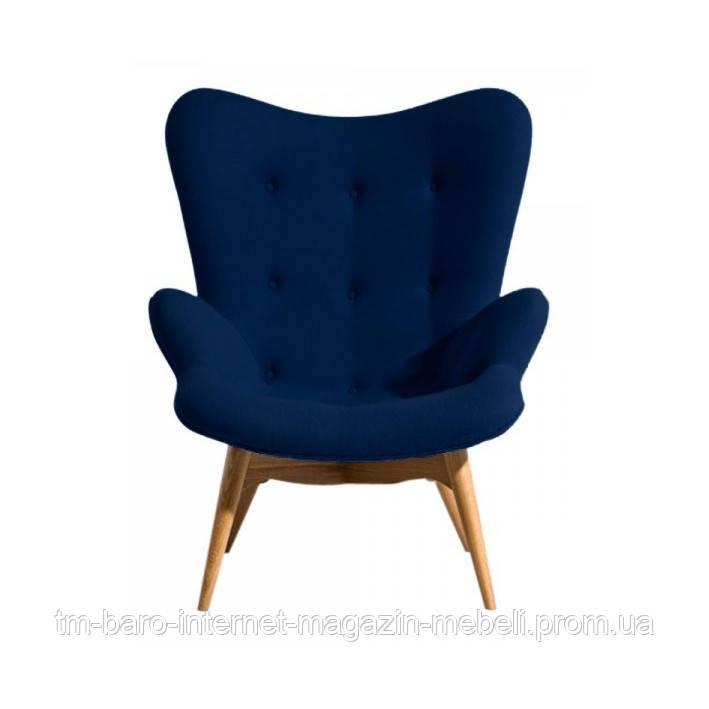 Кресло Флорино синий, бук