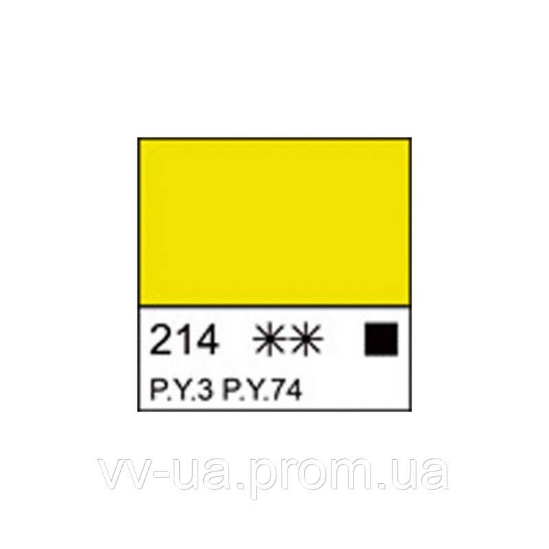 Краска акриловая Ладога, Лимонная, 100 мл, Невская палитра ЗХК (351351)