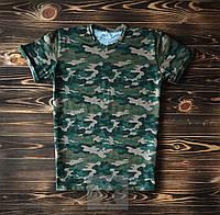 Камуфляжная мужская футболка / Футболки с надписями на заказ