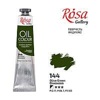 Краска масляная Rosa Gallery, Оливковая, 45 мл (3260144)