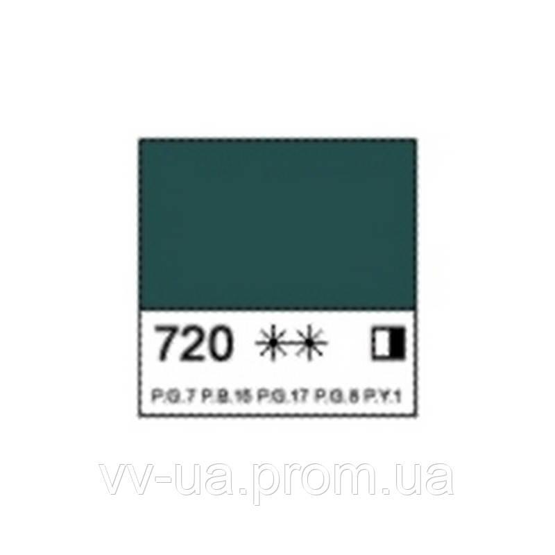 Краска масляная Ладога, Cмарагдова, 46 мл, Невская палитра ЗХК (351663)