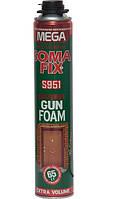 Профессиональная монтажная пена SomaFix Mega 850 мл (65 л) (12 шт/уп)