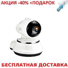 Беспроводная поворотная IP-камера DL-V3 с ИК подсветкой + монопод