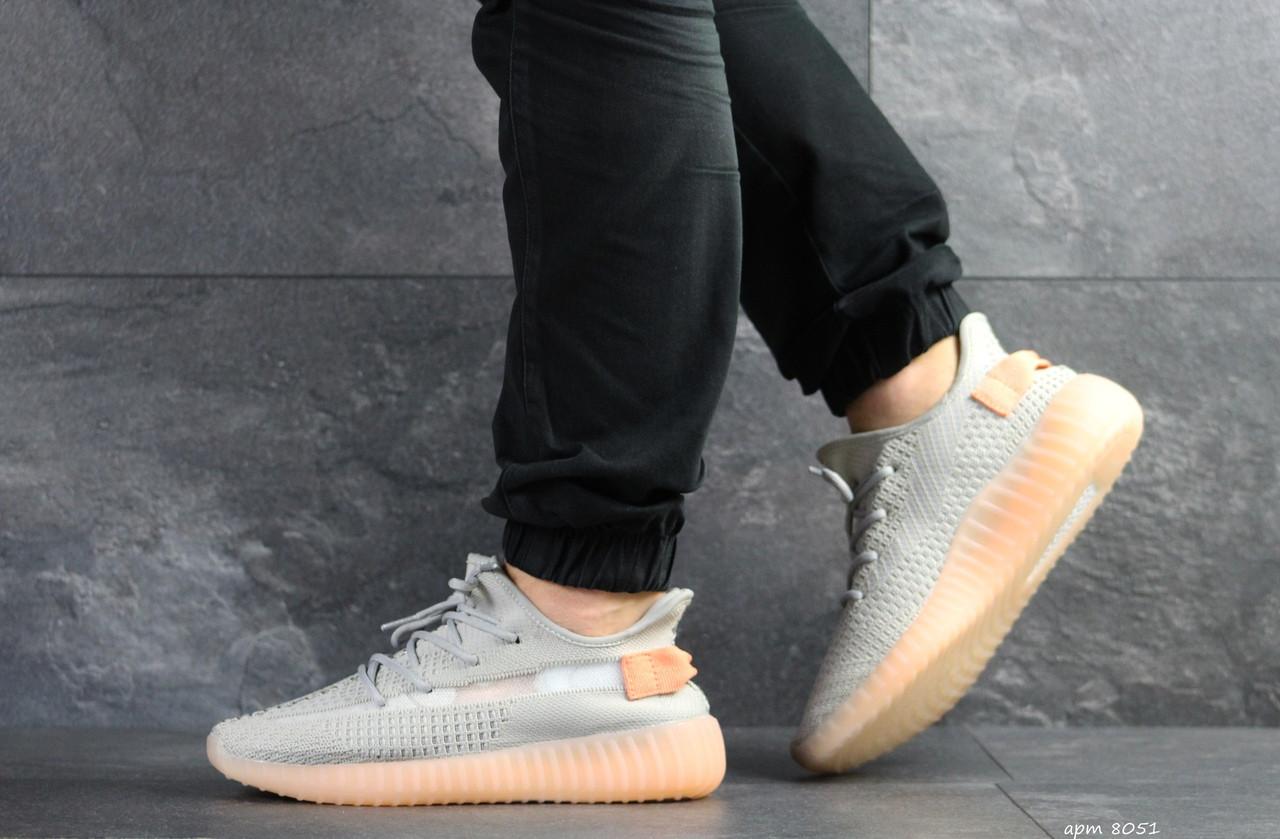 Мужские кроссовки Adidas Yeezy Boost 350 v2 (серые)