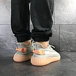 Мужские кроссовки Adidas Yeezy Boost 350 v2 (серые), фото 6