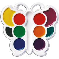 Краски акварельные Луч Бабочка 10 цветов, медовые (10С548-08)