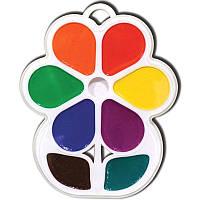 Краски акварельные Луч Цветочек, 8 цветов, медовые (18С1183-08) (110198)