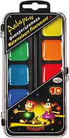 Краски акварельные флуоресцентные Гамма Флюрики, 10 цветов (212043Н)