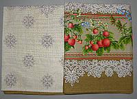 Льняная скатерть 180x150 размер (N-208)