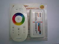 RGB контроллер с радио пультом (touch screen) 12/24V; 6A/канал